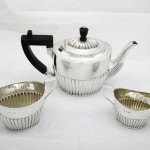 Silver Tea Set Hallmarks Sheffield 1897