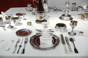 antique dining room silver for sale