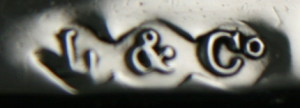 English Silver Makers Marks Beginning With The Letter L liberty and co silver maker mark