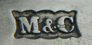 English Silver Makers Marks Beginning With The Letter M mackay-chisholm-silversmiths