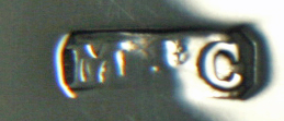 English Silver Makers Marks Beginning With The Letter M marks and cohen silver maker mark
