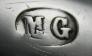 English Silver Makers Marks Beginning With The Letter M martin-goldstein-silver-maker-mark