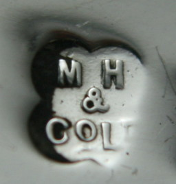 English Silver Makers Marks Beginning With The Letter M martin hall silver maker mark
