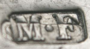 English Silver Makers Marks Beginning With The Letter M montague-friedlander-silver-maker-mark